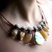 Aurora Labradorite Necklace