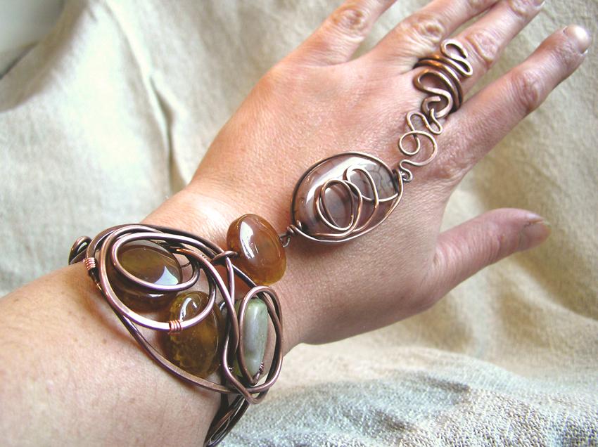 Copper-Slave-bracelet
