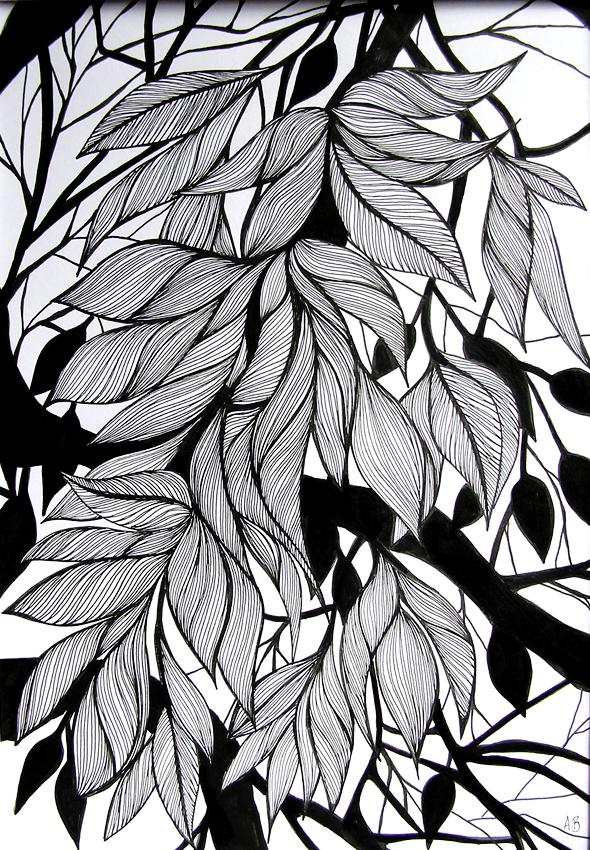 Leaf-silhouettes