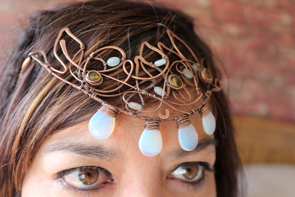 Copper Elven head dress